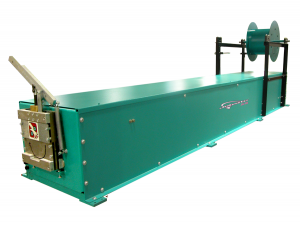 Seamless Guttering Machine also know as a Continuous Gutter Machine