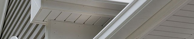 We offer a complete line of gutters, downspouts, and gutter covers